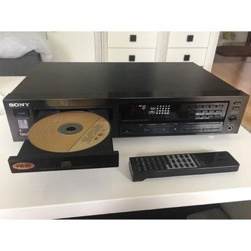 CD Sony  CDP - 690 aluminiowy front ,pilot.