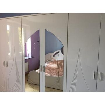 Biała sypialnia do sprzedania
