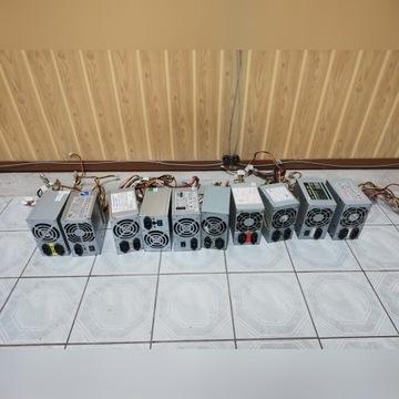 10x zasilacz komputerowy 350w, 300w, 200w