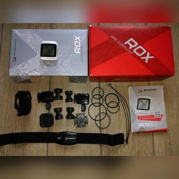 Sigma ROX 6.0 2 zestawy na 2 rowery pulsometr BT