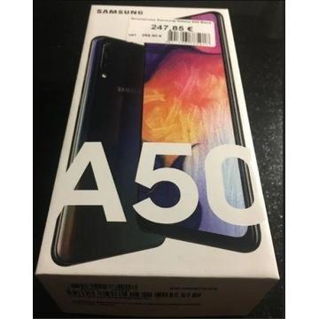 Samsung Galaxy A50 128 GB, dual SIM, czarny