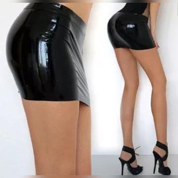Spódniczka  mini latex