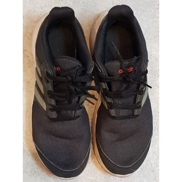 Czarne buty Adidas do biegania (r.38)