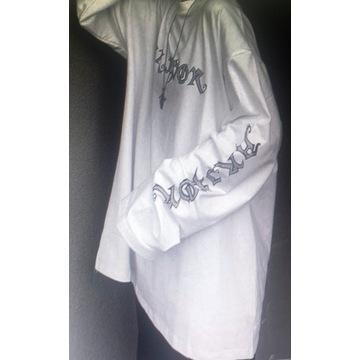 Odzież Gotycka Bluza Gotycka biała XXL