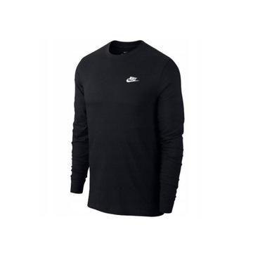 Koszulka długi rękaw Nike męska czarna rozmiar xXL