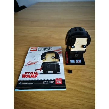 Lego BrickHeadz Star Wars 41603 Kylo R, 41602 Rey