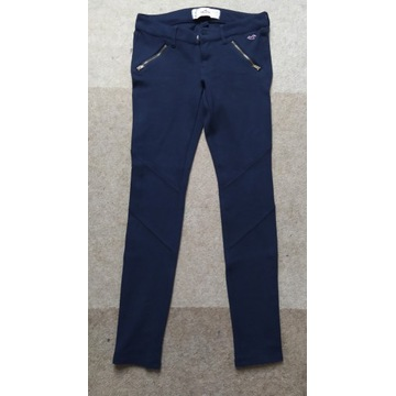 Hollister spodnie damskie rozmiar M a la bryczesy