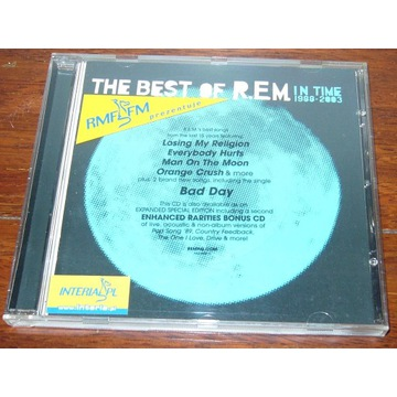 IN TIME: THE BEST OF R.E.M. 1988-2003 + Singiel
