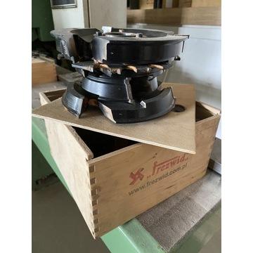 Zestaw głowic  do produkcji okien 88mm FREZWID