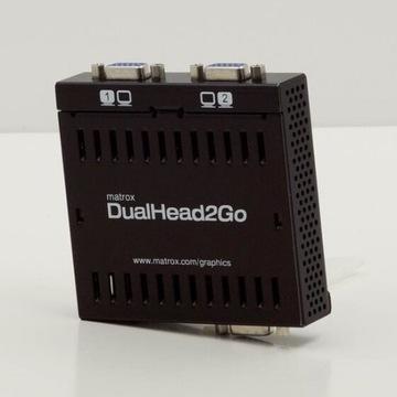 Matrox DualHead2Go A2A splitter konwerter video