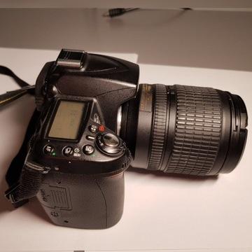 Nikon d90 + obiektyw Nikkor 18-105 f3.5-5.6 Zestaw