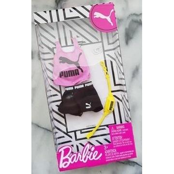 Barbie Fashion Ubranko PUMA sportowe modne dodatki
