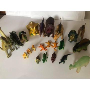 Zestaw dinozaury