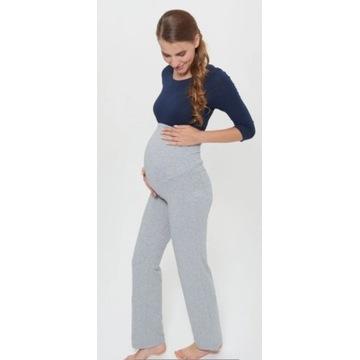 NOWEEsmara, szare dresy ciążowe z kieszeniami XS/S