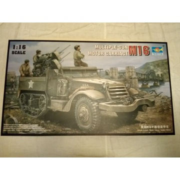 1:16 Trumpeter Motor Carriage M-16