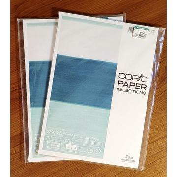 COPIC papier A4 do markerów - 2 x 20 kartek