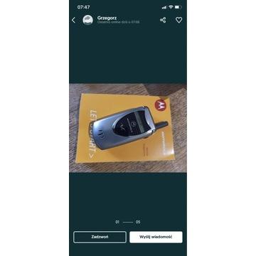 Motorola v60 stan fabryczny unikat