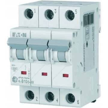 Wyłącznik nadprądowy 3P B 10A 6kA AC xPole Home HN