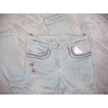 spodnie jeansy NEXT roz.146 nowe