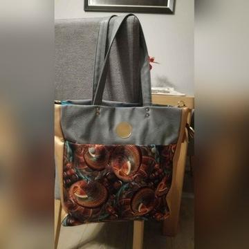 Duża torba shopperka