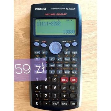 Kalkulator naukowy techniczny Casio fx-350ES