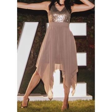 Suknia balowa, elegancka, weselna BonPrix
