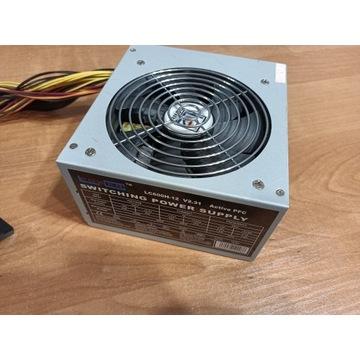ZASILACZ LC POWER 600W 24pin 8pin pci-e LC600H-12