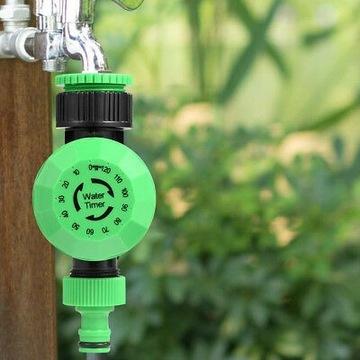 Mechaniczny zegar przepływu wody
