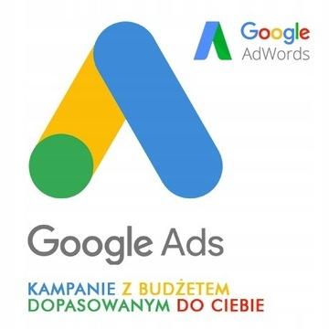 Kupon Kod Google Ads Adwords zamień 100zł na 300zł