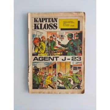 Kapitan Kloss Agent J-23 wydanie pierwsze