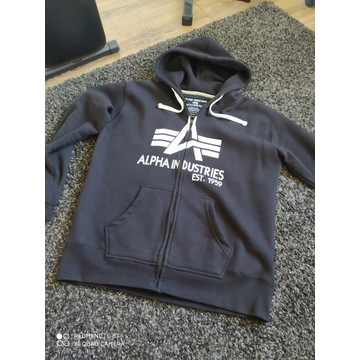 Bluza z kapturem Alpha Industries XL/L
