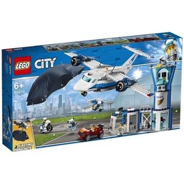 LEGO 60210 City - Baza policji powietrznej - NOWE
