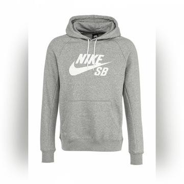 Nike SB bluza męska L szara z kapturem