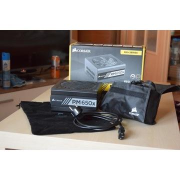Zasilacz Corsair RM650X 650W Gold BOX