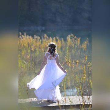 Suknia Ślubna + Pokrowiec