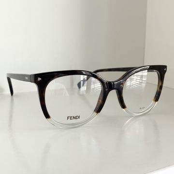 Okulary Fendi FF 0235 COLOR BLOCK AB8 oprawka