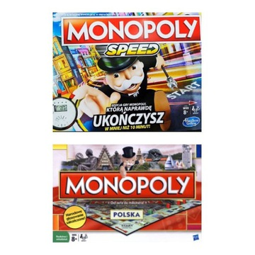 Monopoly Polska + Monopoly Speed