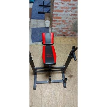 Xylo siłownia 190 kg zestaw ŁAWKA+GRYFY+OBCIĄŻENIA