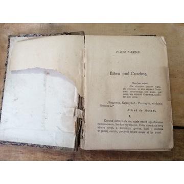 Stara książka BITWA POD CIUSZIMĄ