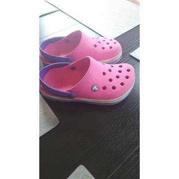 Crocs crocsband Kids J3 34-35 fuksja/róż