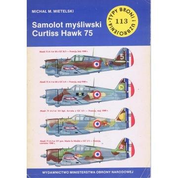 TBiU nr113  Curtiss 75  ,,Hawk,,