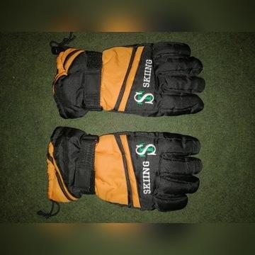 Rękawiczki narciarskie.