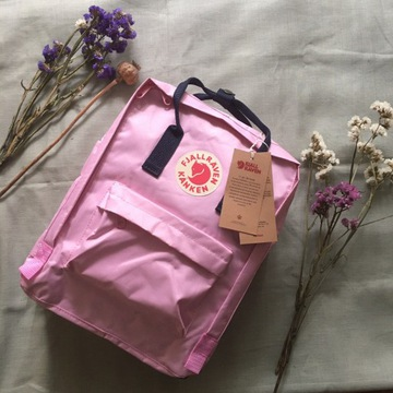 Nowy plecak kanken 312/540 pink royal blue 16L