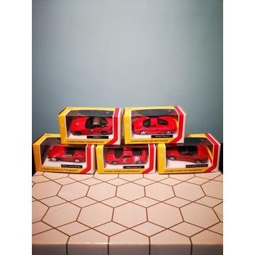 Kolekcja Ferrari Shell Bburago 1:43, 5 szt.