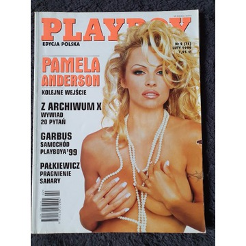 Playboy luty 1999 Pamela Anderson Marta Piechowiak