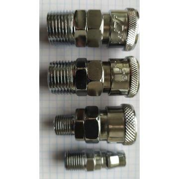 Kompresor złączki szybkozłączki