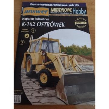 Model kartonowy Answer K 162 Ostrówek