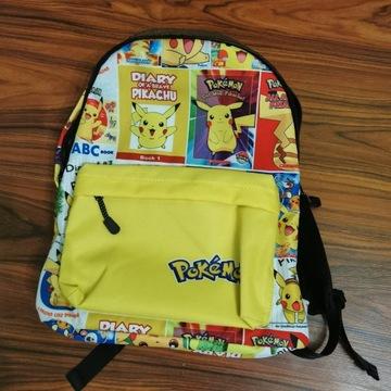 Plecak Tornister + Piórnik Pokemon PIKACHU