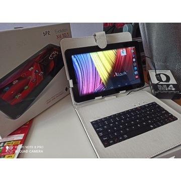 Tablet larkx4 10cali 1/8gb klawiatura+smartband