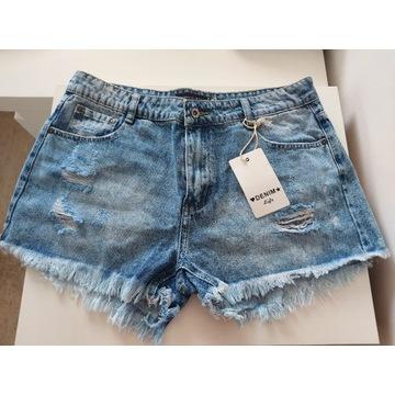 Spodenki damskie jeans szorty nowe TOMMY XL 80 cm